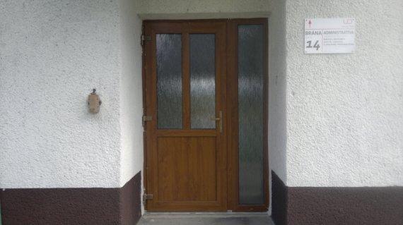 Vchodové dvere USP Pobedím