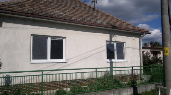 Plastové okná rodinný dom Potvorice