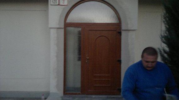 Vchodové dvere Atyp rodinný dom Nové Mesto nad Váhom