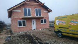 Plastové okná novostavba rod. domu Horná Streda
