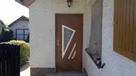 Vchodové dvere prevedenie hliník