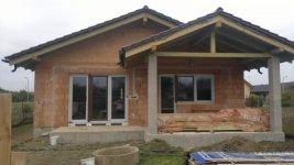 Plastové okná novostavba rodinného domu Horná Streda