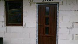 Vch.dvere pristavba rod. domu Modrovka