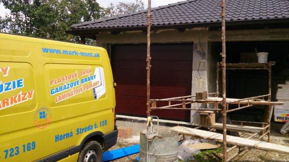 Garažová brána sekčná Hormann garáž Brunovce