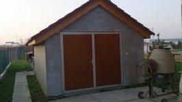 Garážová brána kridlová ručna garáž Horná Streda